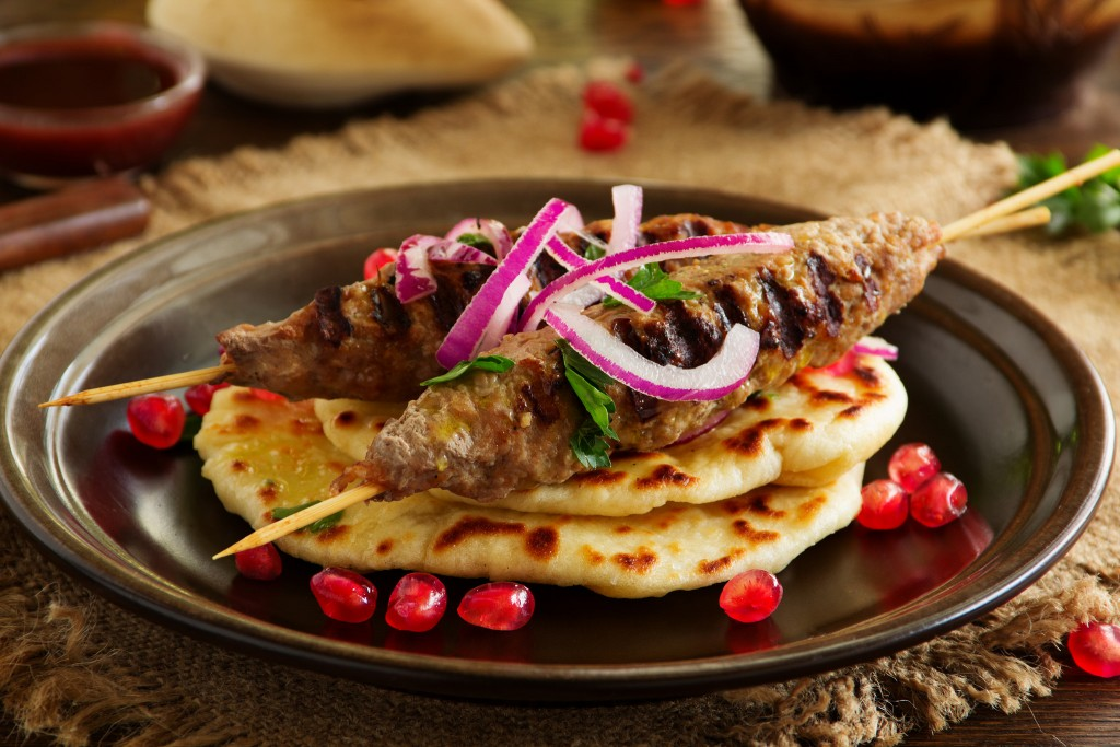 Spice things up by taking your date for exotic kebabs and other Afghani dishes.